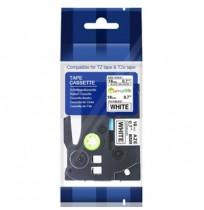 Color Tapes Flexible Black on White [TZE-FX241]