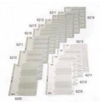 BANTEX DIVIDER BAHAN PLASTIK (A4, 1-20) 6213