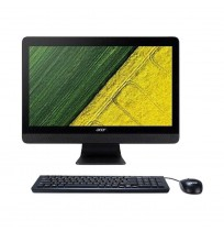 ACER AIO Aspire C20 - 220 AMD E1 / 2GB / DOS  Black Color