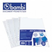 BAMBI 5220 Document Pocket