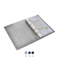 BANTEX Business Card Album 5596 (16 x 23 cm / 160 cards)