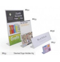 BANTEX Slanted Sign Holder A5 8853