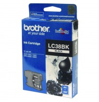 BROTHER Black Ink Cartridge (LC-38 BK)