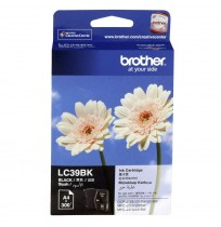 BROTHER Black Ink Cartridge (LC-39 BK)