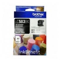 BROTHER Black Ink Cartridge (LC-583 BK)