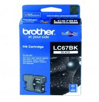 BROTHER Black Ink Cartridge (LC-67 BK)