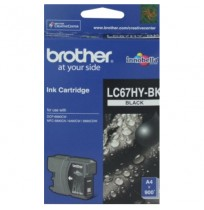 BROTHER Black Ink Cartridge (LC-67 HY BK)