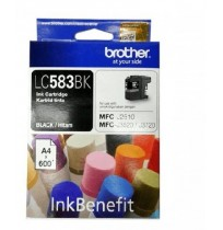 BROTHER Black Ink Cartridge [LC-583BK]