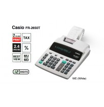 CASIO Kalkulator FR-2650T (Printing Calculator)