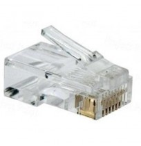 Connector Cat5e RJ45 (100 pcs)