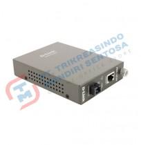 Media Converter DMC-1910R [1000BaseTx to 1000BaseLX Simplex SC SM 10km]