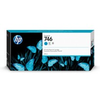 746 300-Ml Cyan Designjet Ink Cartridge [P2V80A]