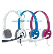 Stereo Headset H150 - WHITE / BLUE /PINK