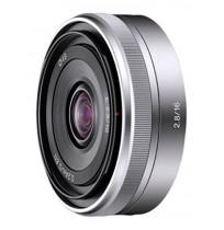 E 16mm F2.8 [SEL16F28] - Silver