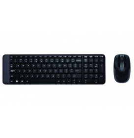 Logitech Keyboard + Mouse Wireless MK 220