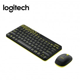Logitech Keyboard + Mouse Wireless MK 240 Nano