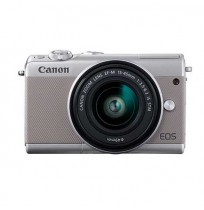 EOS M100 DOUBLE KIT EF-M15-45 IS STM + EF M22 - Grey