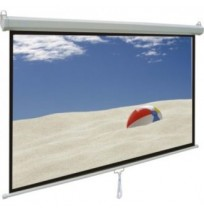 MANUAL PROJECTOR SCREEN MAS-2121 84 INCH (213X213 CM)