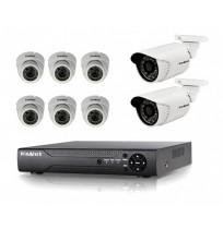 CCTV DVR 8ch 700 KIT