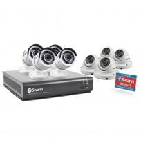 Paket 8 Ch dengan 8 kamera 1080p