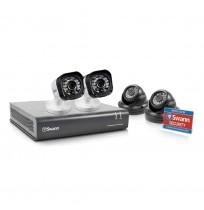 Paket 4 Ch dengan 4 kamera 720p