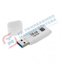 Toshiba Flashdisk Hayabusa White 3.0 16GB (THN-U301W0160A4)