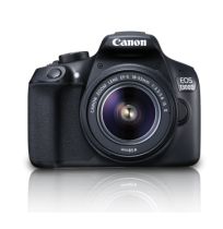 CANON Digital EOS 1300D with lens 18-55 IS II