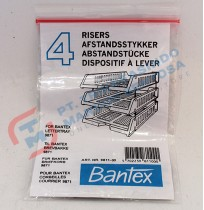 "Bantex 9811-00 Set of 4 pins ""Riser"""