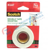 SCOTCH Double Tape Foam Mounting Tape 110-1A