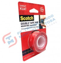 SCOTCH Double Tape Mounting Transparant 4010 - 1A