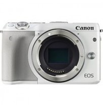 CANON EOS M3 White with EF-M18-55mm [EOSM3-W1]