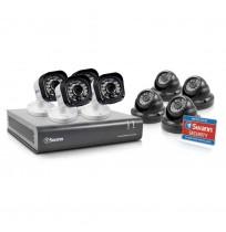 Paket 8 Ch dengan 8 kamera 720p