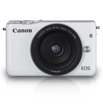 CANON EOS M10 White with EF-M15-45mm [EOSM10-W1]
