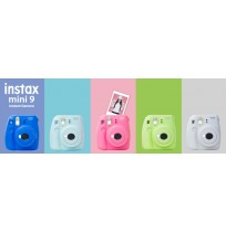 FUJIFILM Instax Mini 9 Instant - Ice Blue