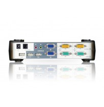 ATEN KVM Switches Master View (Desktop KVM) PS/2 & USB KVMP [CS1742]