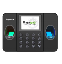 FINGERSPOT Mesin Absensi Fingerprint Revo Duo-158BNC