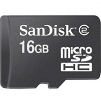 SANDISK MicroSD 16GB Class 4 [SDSDQM-016G-B35]