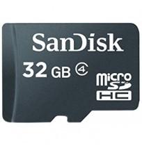 SANDISK MicroSD 32GB Class 4 [SDSDQM-032G-B35]