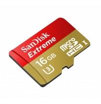 SANDISK MicroSD Extreme 16GB U3 90/40MB [SDSQXNE-016G-GN6MA]