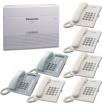 PANASONIC KX-TES824 + KX-T7730 + 5 Unit KX-TS505 3 Line 8 Extension