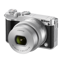 NIKON 1 J5 Mirrorless Digital Camera Double Kit - Silver