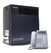 PANASONIC KX-TDA100D + DT333 Kap 8.0 line 52 ext